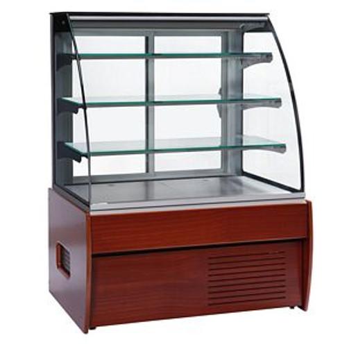 Zurich II Wood Choc Range Chocolate Display Cabinet - ZURICH II 150W CHOC