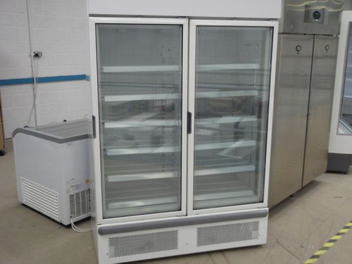 4 ft Upright Display Freezer