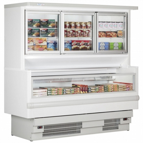 6ft 3 Door Retail Display Freezer - BFZ6