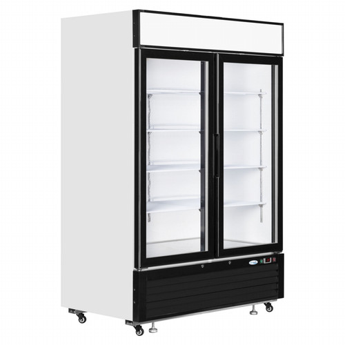 6ft Double Door Display Chiller - DDFR6