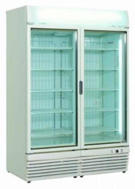 6ft Double Door Display Freezer - DDFZ6