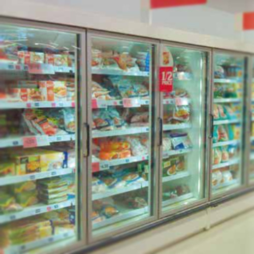 8ft 3 Door Retail Display Freezer - Quebec