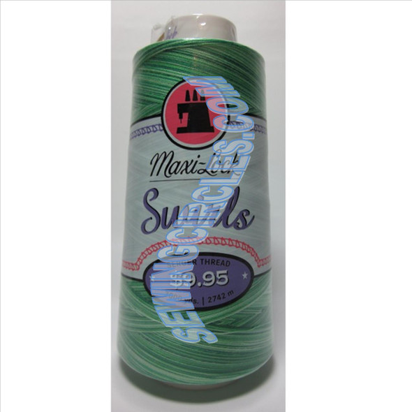 Maxi-Lock Swirls Mint Julep 3000yd (036771709989)