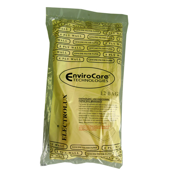 EXR-1450 Manufacturer Part No.: 138FP PAPER BAG, LUX DISCOVERY UPRIGHT ENV 12PK 4PLY