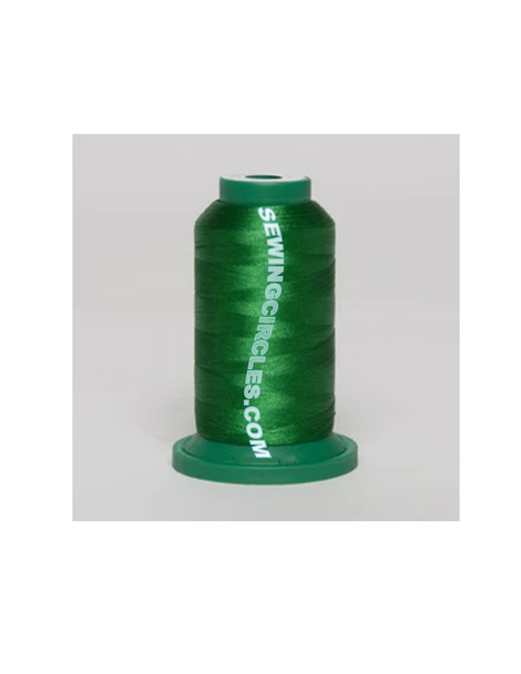 Exquisite Polyester Thread - 990 Verde Bright Green 1000 Meters