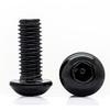 Black Security Hardware Kit 8mm bolt for LED Light Bar Steel Anti-Theft locking Nuts Work lights
