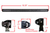 "E-US Series 52"" Ultra Spot 300w OZ-USA® LED Light Bar off road fog driving 4x4 hyper beam JK JKU Truck SUV ATV"