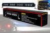 "HD Series 20"" OZ-USA® 120w High Output LED Halo Rings  Advance Optic Anti-Glare Lens Single Row Light bar Off Road Fog lights"