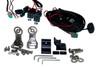 "HD Series 50"" OZ-USA®  High Output LED Halo Rings Advance Optic Anti-Glare Lens single Row Light bar Off Road Fog"