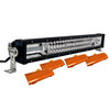 "T Series 20"" Triple Row LED Light Bar Combo Beam + Amber Lens Cover with Security Hardware Kit Offroad 4x4 Truck SUV"