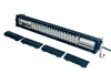 "T Series 20"" OZ-USA® Triple Row LED Light Bar Combo Beam + Black Lens Cover with Security Hardware Kit Offroad 4x4 Truck SUV"