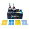 3HL-H8 LED Headlight Fog Light Conversion Kit by OZ-USA® 30W Single Beam Auto 2200LM Xenon White 3000K, 4300K, 6500K, 8000K, 10000K
