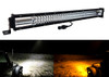 """DL-Series 30"""" Amber White Dual Color Changing LED Light bar Harness Anti-theft Security Bolt  Flashing Emergency Driving Fog Spot Light Offroad SUV Truck Marine Agricultural and Heavy Equipment 12 - 32 Volts"""