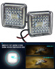 "2 pc. OZ-USA® 4"" High Output 360° Osram LED Work Lights Driving Offroad Truck Trailer Tractor SUV Heavy Equipment Vehicle Combo Beam 12 - 32 volts"