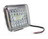 """White 4"""" High Output 360° Osram LED Work Lights Driving Offroad Truck Marine Boat Trailer SUV ATV Combo Beam 12 - 32 volts"""