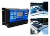 20A Solar PV Panel Battery Charger Regulator Controller LCD Display Built-in Timer USB Port 12V 24V
