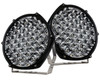 """9"""" Round High Output Long Range Osram LED Driving Lights with DRL Function Offroad Truck Spot Beam 12v-24v"""