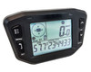 GPS Speedometer voltmeter temperature gauge with Suction Cup Mount 12v-24v
