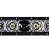 "30"" Laser Projector Light Bar Single Row High Intensity Osram LED with DRL Function for Offroad Truck UTV Marine Vessels 12-24 volt"