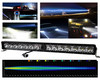 """30"""" Laser Projector Light Bar Single Row High Intensity Osram LED with DRL Function for Offroad Truck UTV Marine Vessels 12-24 volt"""