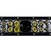 "22"" Laser Projector Light Bar Double Row High Intensity Osram Side LEDs  for Offroad Truck SUV UTV Marine Vessels 12-24 volt"