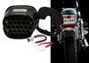 FL Smoke Lens Red LED Tail Brake Light Plug and Play for Harley Touring FLHT FX XL Sportster 883 1200 FLTRI