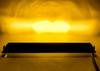 20 Inch Amber OZ-USA®  UB Series 90W Ultra Bright High Output Single Row LED Light Bar Spot Flood Combo Beam Off-Road Auxiliary Fog Dust Lights