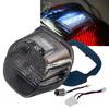 Smoke Lens Tail Brake Led Light Harley Davidson Motorcycle Stop Lamp Xl FLH FX