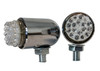 Chrome Running Light OZ-USA® Amber LED Turn Signal Harley Sportster Xl 1200 Fx Road Glide King Led Custom