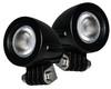 Flood Mini Trail Lights OZ-USA® LED  Motorcycle Offroad Dual Sport Enduro Fog ATV MX