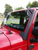 """JK Light Bar Bracket upper Windshield 50"""" -  52"""" roof mount Jeep JK JKU 2007 - 2015 Rubicon"""