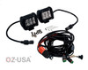 """D4D 4"""" SPOT Beam LED Pair 4D reflector Work Light Bar Black for Off-Road SUV Boat 4WD Jeep"""