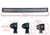 """30"""" Curved 4D-Series OZ-USA® 180w LED Lightbar Combo Spot/Flood Beam for Off-road Truck 4x4 SxS UTV 12V - 24V"""