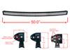 "50"" Curved 4D-Series OZ-USA® 288w LED Lightbar Combo Spot/Flood Beam for Off-road Truck SxS 4WD SUV 12V 24V"