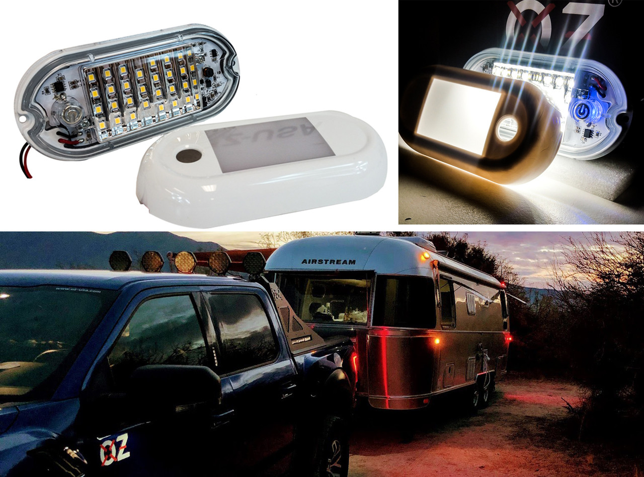 lightronic 26 Inches 36W LED Interior Dome Light Fixture Fit for RV UTV and Boats