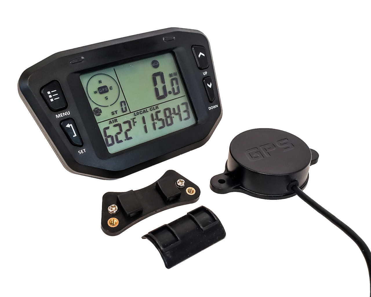 GPS Speedometer OZ-USA 60mm gauge odometer battery meter digital dash 12v 24v mph kmh car truck boat marine motorcycle cart atv glider