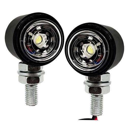 Motorcycle CREE lights  OZ-USA® High Output LED fog street touring cruiser supermoto headlight 6000K