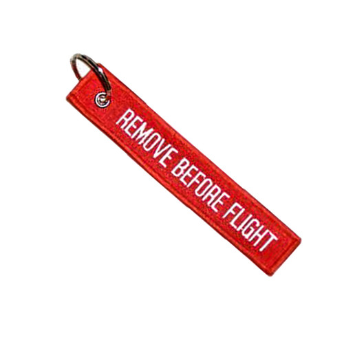 Remove Before Flight Key Chain Aviation ATV UTV Motorcycle Pilot Crew Tag Lock
