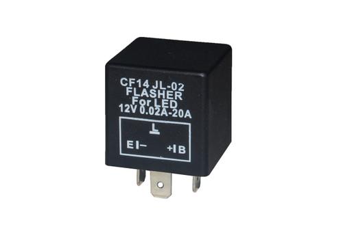 3-Pin OZ-USA® Universal LED Flasher Relay Car Motorcycle CF14 JL-02 12v