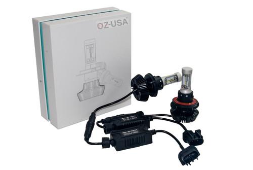 7HL-H13 LED Headlight Kit by OZ-USA® Dual Beam 8000LM Xenon White 6500K