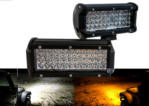 Amber led offroad light bar
