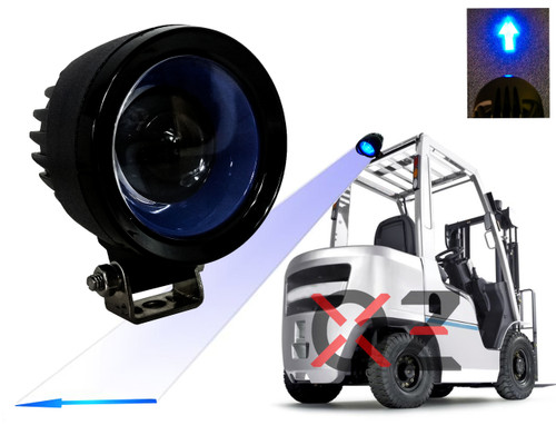 Blue Arrow Forklift LED Light Warehouse Safety Warning Lamp Spot Offroad Race 12V 48V