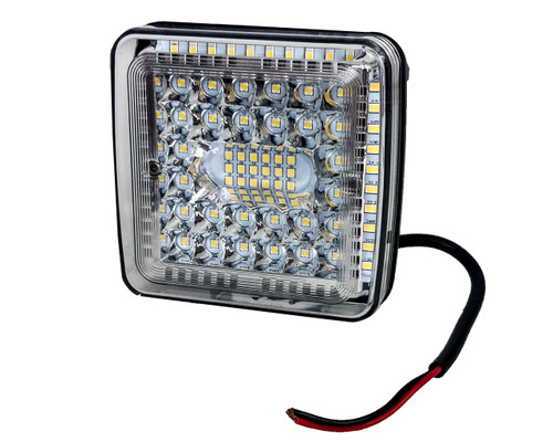"""4"""" High Output 360° Osram LED Work Lights Driving Offroad Truck Trailer Tractor SUV Combo Beam 12 - 32 volts"""