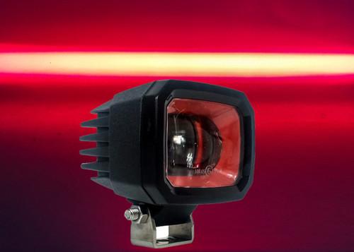 Red Line LED Forklift Light Warehouse Safety Front Side Marker Clearance Warning Lamp Spot Offroad Race 12V 48V