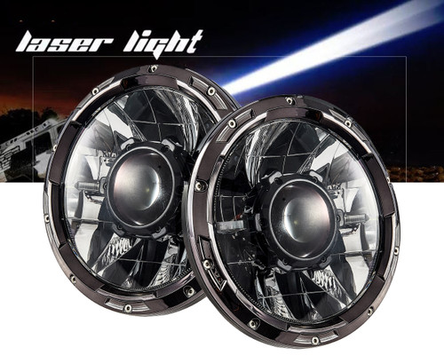 laser jeep headlight