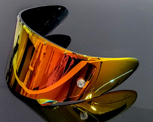 Red Iridium X-14 RF1200 X-Spirit 3 CWR-1 RF-SR Fits EVO CWR-F Pinlock Insert For Shoei Helmet Shield Visor Motorcycle