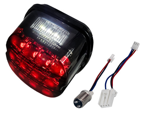FL Red OZ-USA LED Tail Brake Light Harley Touring Electra FLTR Road King Glide FLHTCU I