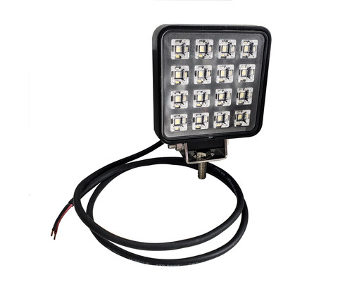 """3.5"""" High Output 16w Osram LED Exterior Interior Work Light Flood Beam with Toggle Switch for Truck Trailer RV 12-32 volts"""