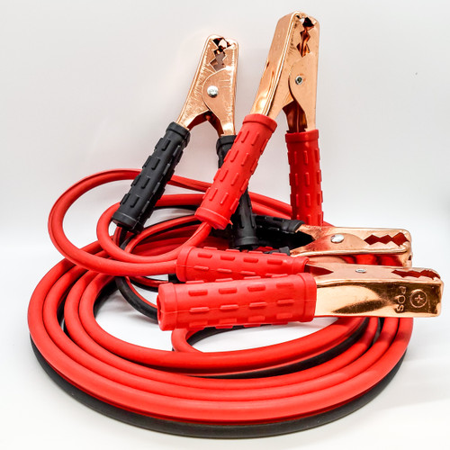 12' Booster Cables Accessory Automotive Car Truck RV UTV Battery Starter Jumper 12V 24V