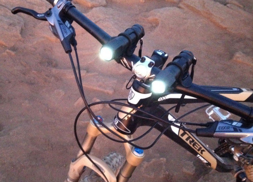 2 Bike Light 6w High Output Cree Flashlight Head Mountain Road Bicycle MTB 6000k